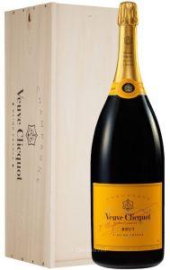 Cassa Legno Mathusalem 6 Lt. Champagne Brut Veuve Clicquot
