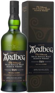 Whisky Single Malt 10 Years Old Ardbeg