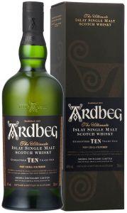 Whisky Single Malt 10 Years Old Ardbeg
