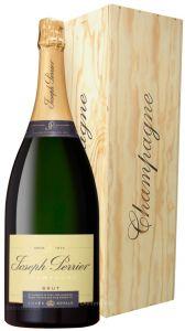 Cassa Legno Magnum Champagne Cuvée Royal Joseph Perrier
