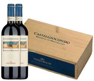 Cassetta CastelGiocondo 2 Bt Brunello di Montalcino Docg 2013 Frescobaldi