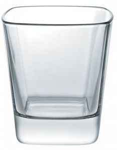 6 Bicchieri Quadrato Palladio 28 Rastal