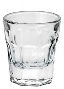 6 Bicchieri Shot Cicchetto Temperato Boston 4 Rastal