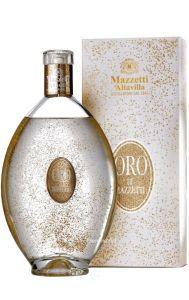 Liquore di Grappa con Scaglie di Oro Alimentare 23 Carati Mazzetti d Altavilla