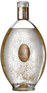 Liquore di Grappa con Scaglie di Oro Alimentare 23 Carati Mazzetti