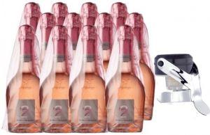12 Bt. Edizione Del Fondatore '22 Spumante Fine Rosé + Tappo Borgo Molino