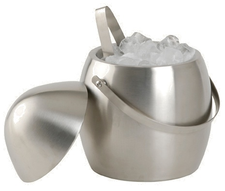 Secchiello porta ghiaccio inox - Cestelli porta ghiaccio ...