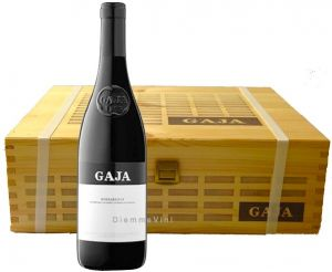 Cassa Legno 3 Bt. Barbaresco Dop 2014 Gaja