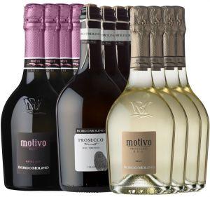 Offerta Motivo 12 Bottiglie Borgo Molino