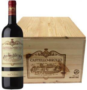 Cassa 6 bt. Castello di Brolio Chianti Classico Docg 2015 Barone Ricasoli