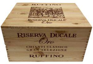 Cassa Legno Vuota Usata Originale Riserva Ducale Ruffino
