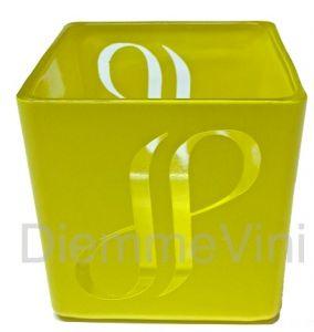 Portacandele in Vetro con Logo Trasparente JP Joseph Perrier