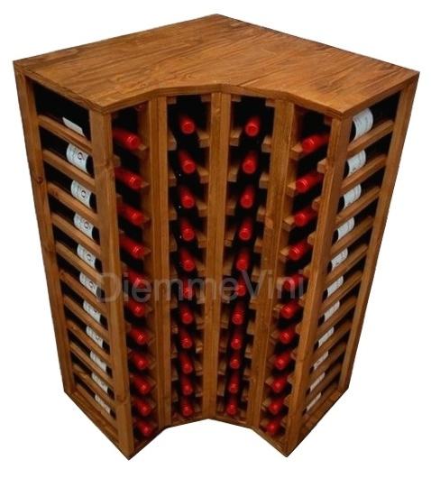 Cantinetta ad angolo for Scaffali per vino ikea