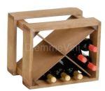 Cantinetta in Legno per 12 Bottiglie Componibile