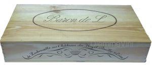Cassa Legno Vuota Usata Originale Pouilly Fumé Baron de Ladoucette