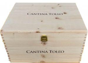 Cassa Legno Vuota Nuova Originale Cantina Tollo