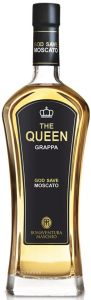 The Queen Grappa di Moscato Gold Save Bonaventura Maschio