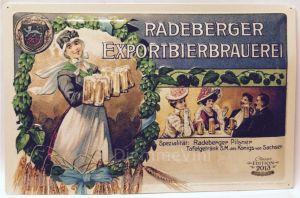 Quadro Metallo a Rilievo Edizione Limitata 2013 Radeberger