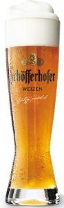 6 Bicchieri Birra Weizen Vetro Temperato Schofferhofer