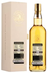 Whisky Tomatin 6 Year 2009 Dimensions Cask 900016 Duncan Taylor