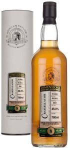 Whisky Glenallachie 8 Year 2008 Dimensions Duncan Taylor