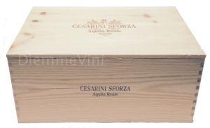 Cassa Legno Vuota Usata Aquila Reale Cesarini Sforza
