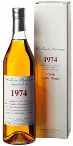 Brandy Acquavite di Vino 1974  Montanaro Distilleria