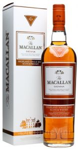 Whisky Single Malt Sienna The Macallan