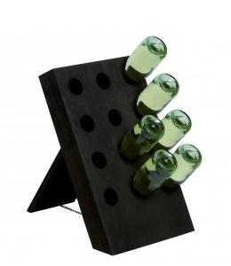 Cantinetta Pupitre in Legno per 12 Bottiglie Vino e Spumante