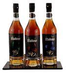 Espositore in Plexigass Degustazione 3 Bottiglie Rum Malteco