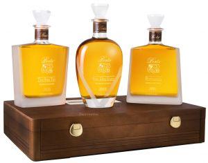 Cofanetto Legno Pregiato 3 Riserve Berta Distillerie