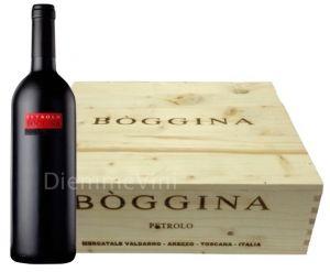 Cassa Legno 3 Bt. Bòggina Rosso Toscana Igt 2013 Petrolo
