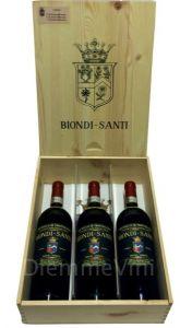 Verticale Brunello Di Montalcino Greppo Docg 2007-2008-2009 Biondi Santi