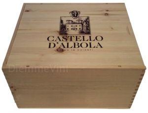 Cassa Legno Vuota Usata Originale Castello D'Albola