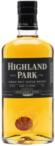Single Malt Scotch Whisky 10 years old Ambassador's Choice Highland Park
