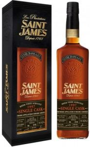 Rum Hors D'Age Single Cask 1997 Extra Viux Agricole Saint James