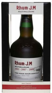 Rhum Multimillesime 2002-2007-2009 J.M.