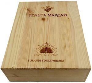 Cassa Legno Vuota Originale Tenuta Maccari