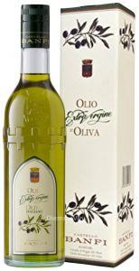 Olio di Oliva Extravergine Torre Castello Banfi