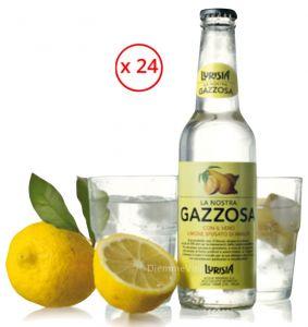 Gazzosa con Limone Sfumato di Amalfi Confezione 24 Bottiglie Lurisia