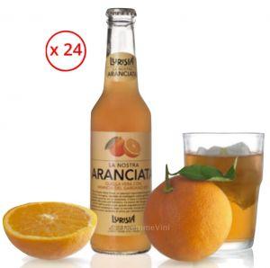 Aranciata con Arance del Gargano Confezione 24 Bottiglie Lurisia