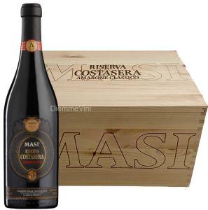 Cassa Legno 6 Bt. Amarone delle Valpolicella Riserva Costasera Doc 2008 Masi