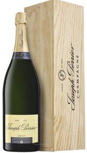 Cassa Legno Jeroboam Champagne Cuvée Royale Blanc De Blanc Joseph Perrier