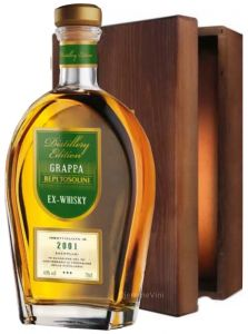 Grappa Barricata ex Botti da Whisky 2001 Bepi Tosolini