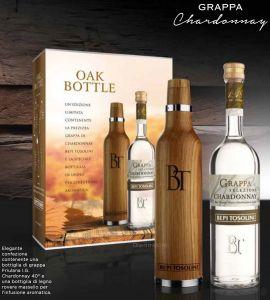 Oak Bottle Bottiglia in Rovere per barricare la Grappa Bepi Tosolini