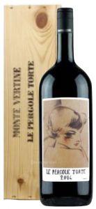 Cassa Legno Magnum Le Pergole Torte Toscana Igt 2014 Montevertine