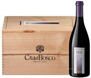 Cassa Legno 6 Bt. Pinéro Pinot Nero Del Sebino Igt 2012 Ca' Del Bosco
