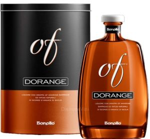 Grappa Barrique Dorange OF con Astuccio in Latta Bonollo