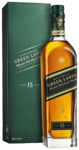 Whisky Blended Malt Green Label 15 Anni Johnnie Walker