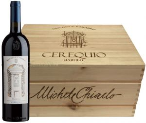 Cassa legno 6 Bt. Cerequio Barolo Docg 2013 Michele Chiarlo